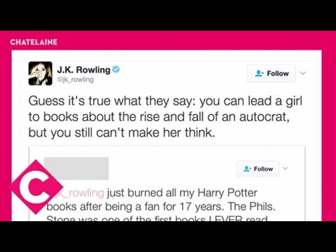 J.K. Rowling, Twitter comeback queen
