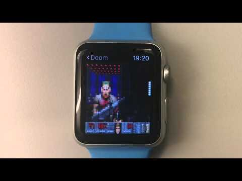 Doom Running On The Apple Watch