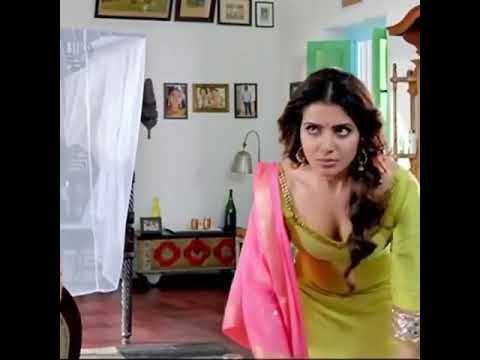 Samantha Hot Sexy Cleavage And Boobs || Samantha Everseen Cleavage Videos
