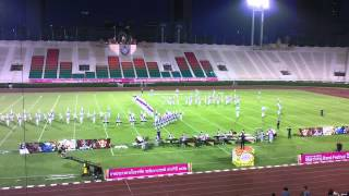 Champion 2013 Thailand International Marching Band Festival - Suranaree Marching Band