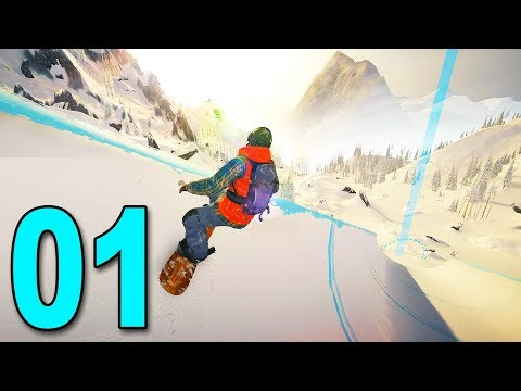 STEEP: Road To The Olympics - Part 1 - SNOWBOARDING CAREER MODE!