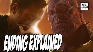 Video Infinity War Ending Explained | Captain Marvel in Avengers 4 MP3, 3GP, MP4, WEBM, AVI, FLV Agustus 2018