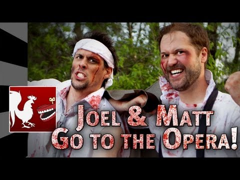 joel - When Matt and Joel get dragged on a double date to the opera, they bolt and go on an adventure of their own. More manly videos here: http://bit.ly/158czhO Sh...