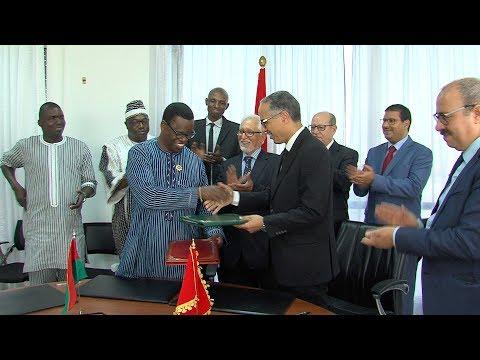 توقيع اتفاقية شراكة وتعاون بين جهة الرباط سلا القنيطرة وجهة الأحواض العليا ببوركينافاصو
