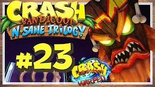 """Let's Play Crash Bandicoot N. Sane Trilogy - Part 23 - Crash Bandicoot 3: Warped! [HD • 60fps • Blind • Deutsch]★ LETSPLAYmarkus abonnieren! ► http://goo.gl/ck1zgM★ Crash Bandicoot N. Sane Trilogy Playlist ► https://goo.gl/n15WrL★ Alle Let's Plays Übersicht ► http://goo.gl/irwbPr★ Offizielle Facebook-Page ► http://goo.gl/G7i8ve★ Offizielle Twitter-Page ► http://goo.gl/99sL40········································································➜ EURE UNTERSTÜTZUNG IST GEFRAGT!Mit nur einem Klick kannst du viel helfen! Like dieses Video mit einem """"Daumen Hoch"""" um das Spiel, das Let's Play und meinen Kanal zu unterstützen! Wenn du immer über neue Videos meines Kanals informiert werden möchtest, kannst du meinen Kanal Abonnieren - Das ist natürlich kostenlos und dient dazu, dass du kein Video mehr verpasst! Hier klicken » http://goo.gl/ck1zgM···················································································➜ INFORMATIONEN ÜBER DIESES VIDEO:Gezeigte Level / Stages in diesem Part:• Toad Village• Under Pressure• Orient Express• Bone Yard········································································➜ INFORMATIONEN ÜBER """"CRASH BANDICOOT N. SANE TRILOGY"""":Als Sony Mitte der 90er Jahre mit der ersten PlayStation in das Konsolengeschäft einstieg, schien der Technikriese einiges richtig zu machen. Doch es fehlte zunächst ein Maskottchen, eine Art Galleonsfigur, wie Nintendos Super Mario oder Segas Sonic the Hedgehog. Am ehesten dürfte """"Crash Bandicoot"""" für Sony diese Rolle übernommen haben: Entwickelt von Naughty Dog und gepublished von Sony selbst, erschien der Beuteldachs 1996 auf der Sony PlayStation und konnte mit tollen 3D-Stages und frischem Gamplay überzeugen. Es folgten Fortsetzungen auf besagter PS1 sowie nachfolgenden Systemen, wo sich Crash Bandicoot jedoch nicht mehr für das """"Fremdgehen"""" auf Konkurrenzkonsolen zu schade war. Mit den Jahren schwand seine Präsenz auf dem Videospielmarkt und das letzte Crash-Game erschien im Jahre 2010, ehe e"""