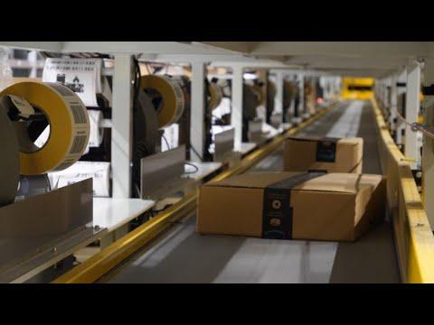 Weg eines Amazon-Pakets vom Warenkorb bis zur Haustür