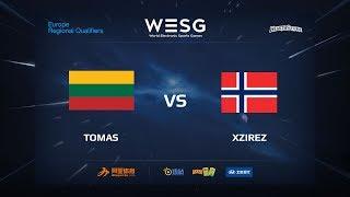 Tomas vs Xzirez, game 1
