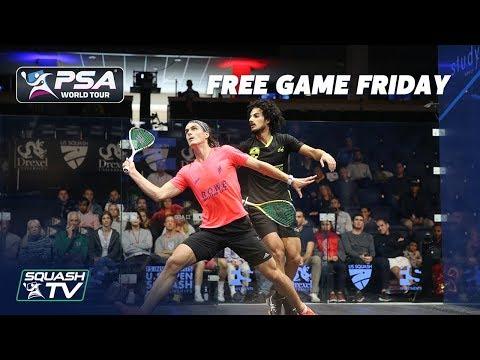 Squash: Coll v Hesham - Free Game Friday - U.S. Open 2019