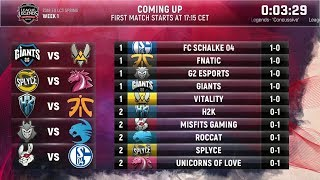 Video EU LCS Spring 2018 W1D2 Highlights ALL GAMES MP3, 3GP, MP4, WEBM, AVI, FLV Juni 2018