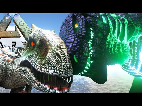 Ark Survival Evolved - GODZILLA vs MUTATED INDOMINUS REX, ARKS BIGGEST BOSS - (Ark Modded Gameplay)