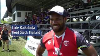 Sevens LEGEND Raikabula trains Thailand Rugby