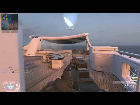 Call of Duty Black Ops 2 Multiplayer -Team Deathmatch - Map Hijacked