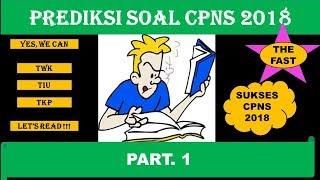 Download Video PREDIKSI CPNS 2018 (Part. 1) - Pendalaman Latihan Soal CPNS MP3 3GP MP4