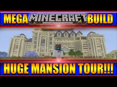 xbox 360 - Today I will show you my Epic Huge Mansion I built on Minecraft Xbox 360 Edition. It has 5 Floors with tons of rooms and all kinds of entertainment! Below yo...
