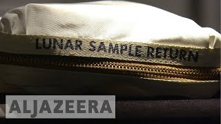 Thursday marks 48 years to the day that man first walked on the moon.The bag that was used to carry the very first lunar samples back to Earth is expected to fetch millions in an upcoming space exploration auction at Sotheby's auction house in New York.Al Jazeera's Kristen Saloomey reports from New York.- Subscribe to our channel: http://aje.io/AJSubscribe- Follow us on Twitter: https://twitter.com/AJEnglish- Find us on Facebook: https://www.facebook.com/aljazeera- Check our website: http://www.aljazeera.com/
