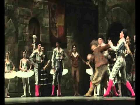 Ballet - Don Quixote : Sancho Panza solo by PIETRO PELLICCIA , K-Ballet Company 2004