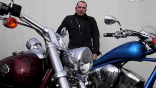 8. Honda Fury vs Harley Rocker C