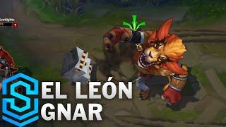 Chi tiết hình ảnh bộ trang phục mới Gnar Mãnh Sư Đô Vật (El Leon Gnar)
