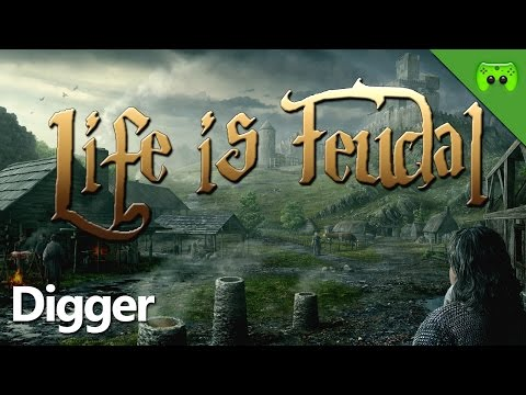 LIFE IS FEUDAL # 9 - Digger «» Let's Play Life is Feudal: Your Own | Full HD