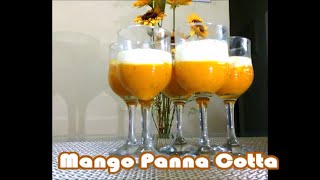 Mango panna cotta is a tasty and delicious mango dessert made from mango puree and is a vegetarian dessert with no gelatine added.For more recipes log on to http://reshuskitchen.blogspot.com/