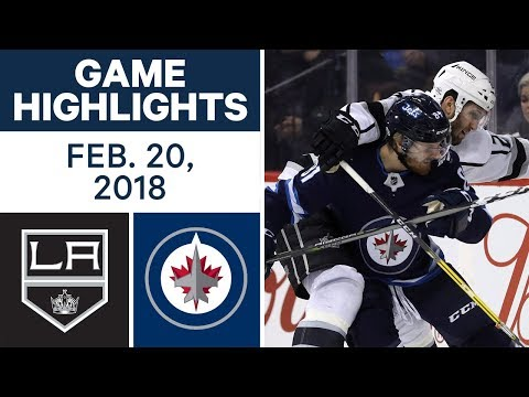 Video: NHL Game Highlights | Kings vs. Jets - Feb. 20, 2018