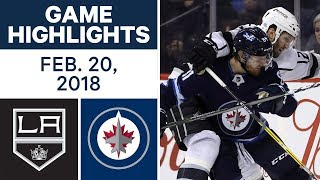 NHL Game Highlights | Kings vs. Jets - Feb. 20, 2018 by Sportsnet Canada