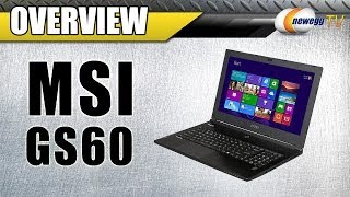 MSI GS60 Ghost Gaming Notebook Overview - Newegg TV