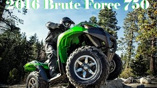 8. 2016 Kawasaki Brute Force 750 4x4i EPS