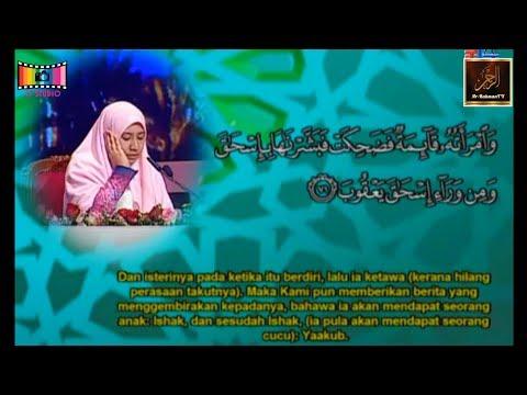 Majlis Tilawah Al-Quran Peringkat Kebangsaan 2018 - Nur Hafizah Ahmad Tajudin (Pahang)