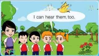 สื่อการเรียนการสอน I can sing and dance ป.2 ภาษาอังกฤษ