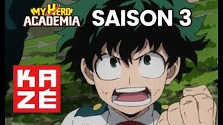 My hero academia - Saison 3 - Bande annonce