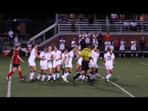 Butler Women's Soccer Highlights vs. Seattle