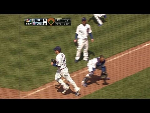 Video: SD@CHC: Rizzo tracks popup for the slick out