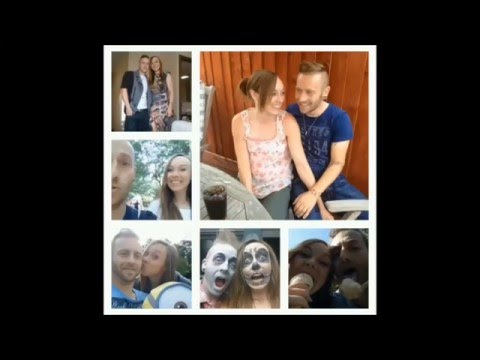 Guy Proposed To His Girlfriend in 148 Different Selfies Without Her Noticing!