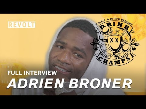 Adrien Broner | Drink Champs (Full Episode) (видео)