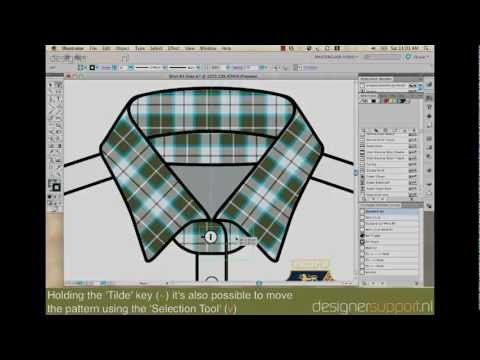 How To Rotate Objects And Pattern Swatches In Illustrator