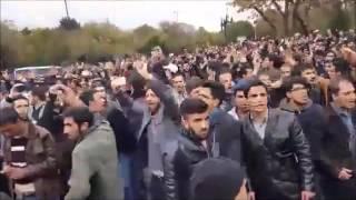 مجموعه گزارشات ویدیویی از به خشونت کشیده شدن اعتراض شهروندان معترض