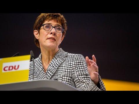 Wahl der neuen CDU-Vorsitzenden: