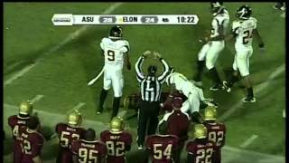 Aaron Mellette vs ASU (2011)