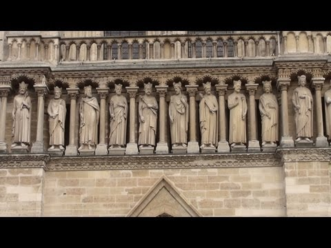 Notre Dame cathedral in Paris, France in Full 3D HD