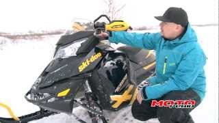 8. Моторевю. Ski-Doo MZX Renegade Backcountry X 600 HO E-TEC