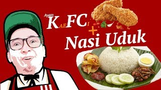 Video AYAM KA EF CI + NASI UDUK ! Wkwkwkwk MP3, 3GP, MP4, WEBM, AVI, FLV November 2018