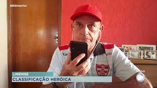 Edson Só técnico do Linense fala sobre a classificação do time e partida contra o Nacional