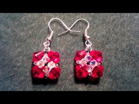 Earrings - And here are the matching earrings for your ring and your bracelet. :-)