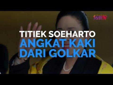 Titiek Soeharto Angkat Kaki Dari Golkar