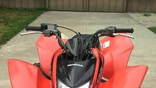 7. 2006 Honda trx 250ex walk around/startup