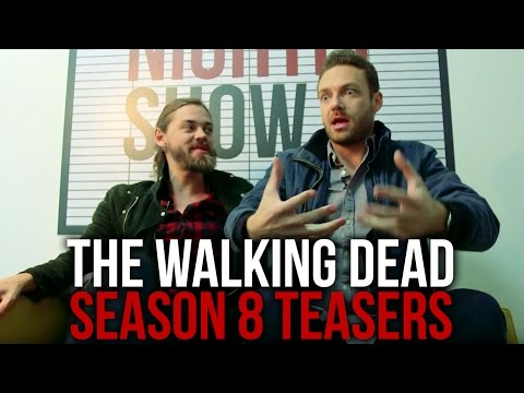 The Walking Dead | Ross Marquand and Tom Payne Tease Exclusive Season 8 Secrets