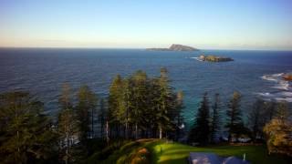 Fluid Motion took to the sky's in Norfolk Island for two days shooting to complete sequences for Foxtel's Coast Australia.