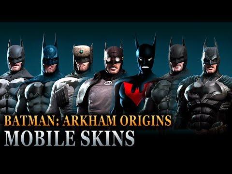 Batman Noel Skin Arkham Origins Batman Arkham Origins Mobile