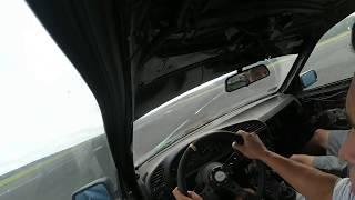 """""""Aż zderzak wyk*rwiło!"""" – Tak wygląda poślizg w BMW przy 200 km/h na oponach do utylizacji!"""